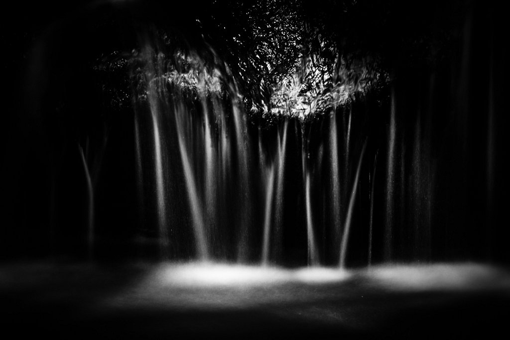 Black & White Waterfalls Variation 05